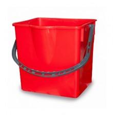 Пластиковое ведро (красное, 18 л)