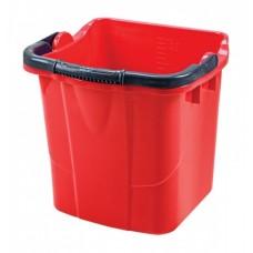 Пластиковое ведро (красное, 25 л)