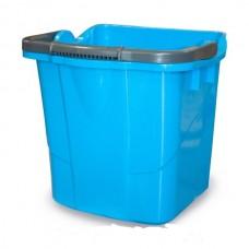 Пластиковое ведро (синее, 25 л)