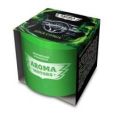 Ароматизатор гелевый «Aroma Motors» JUICE CITRUS в картонной упаковке (круглый) 100мл