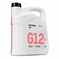 """Жидкость охлаждающая низкозамерзающая """"Антифриз G12+ -40"""" (5 кг)"""