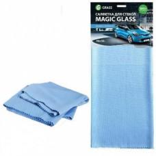 Салфетка микрофибра для стекла Magic Glass (40х50, 1шт)