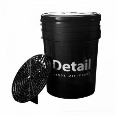 Ведро Detail DT-0222 (черное)