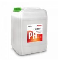 Средство для регулирования pH воды CRYSPOOL pH minus (канистра 23 кг)