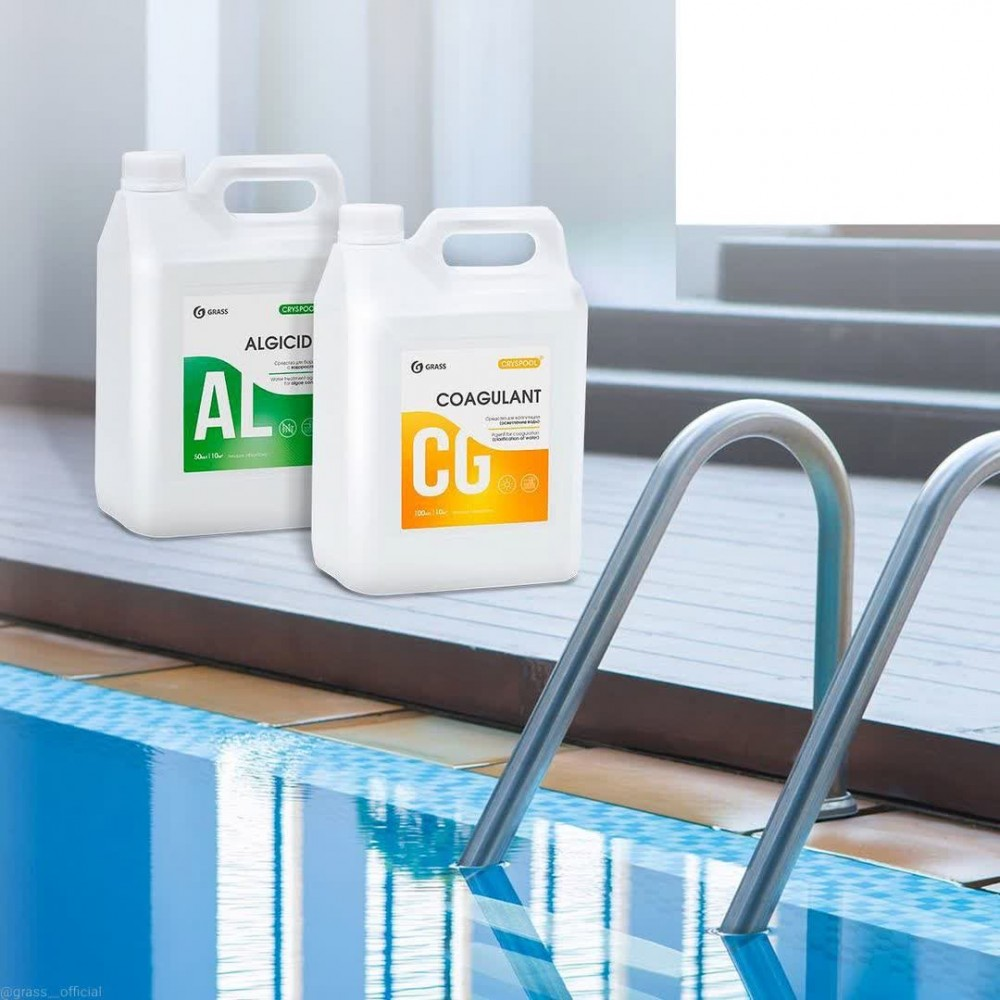 CRYSPOOL - профессиональная линейка средств для воды в бассейнах, SPA и водоподготовки