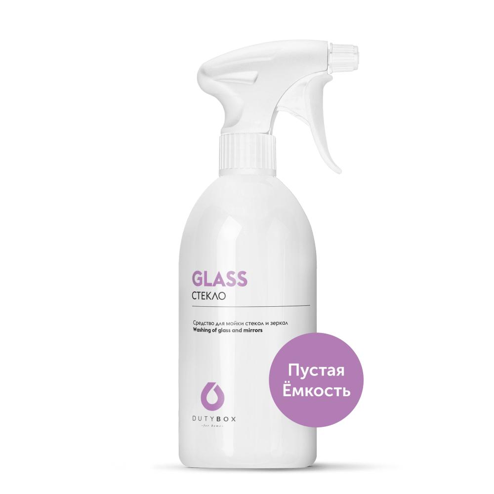 Емкость для очистителя стекол DUTYBOX с распылителем