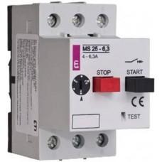 Магнитно-термический выключатель ETI MS25-20